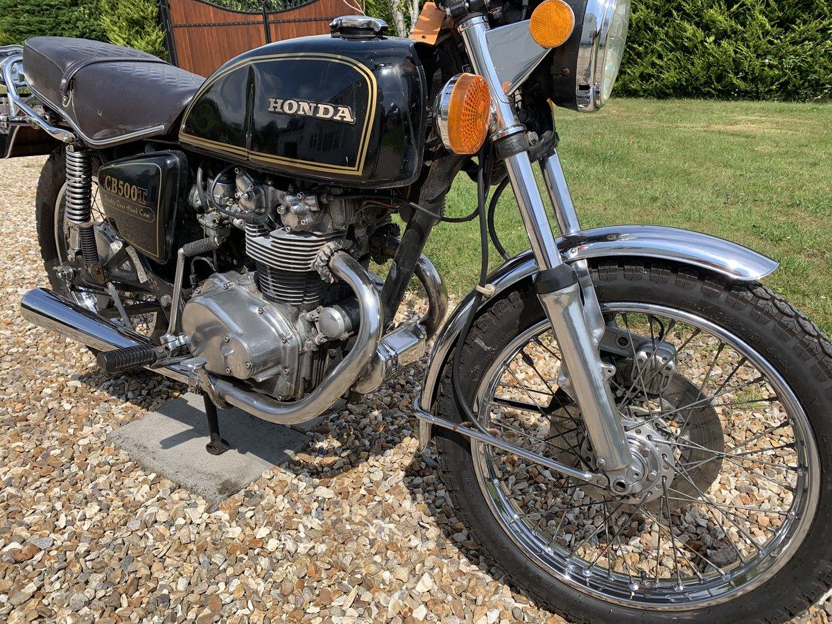 1975 Honda CB500T For Sale (picture 1 of 6)