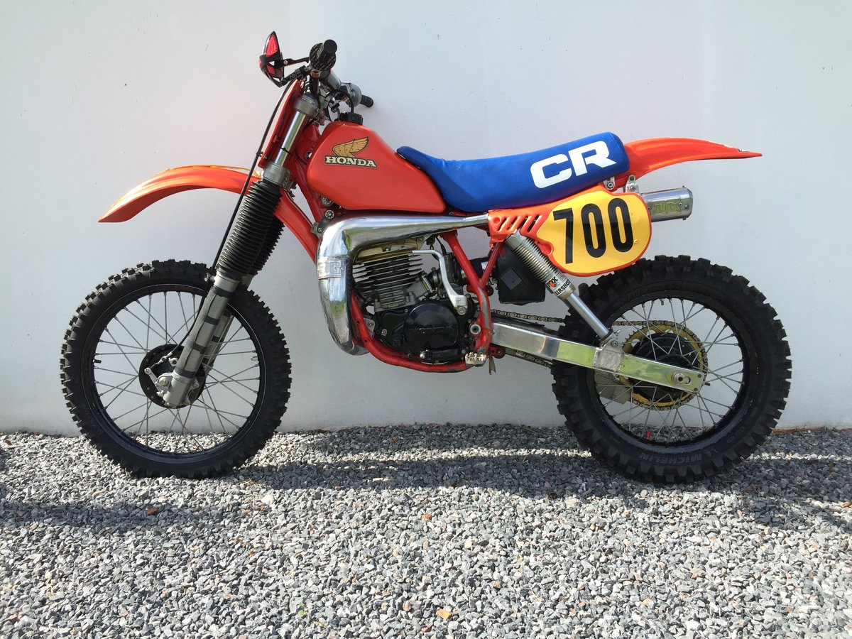 1983 Honda CR 480R Twinshock Motocross SOLD (picture 2 of 6)