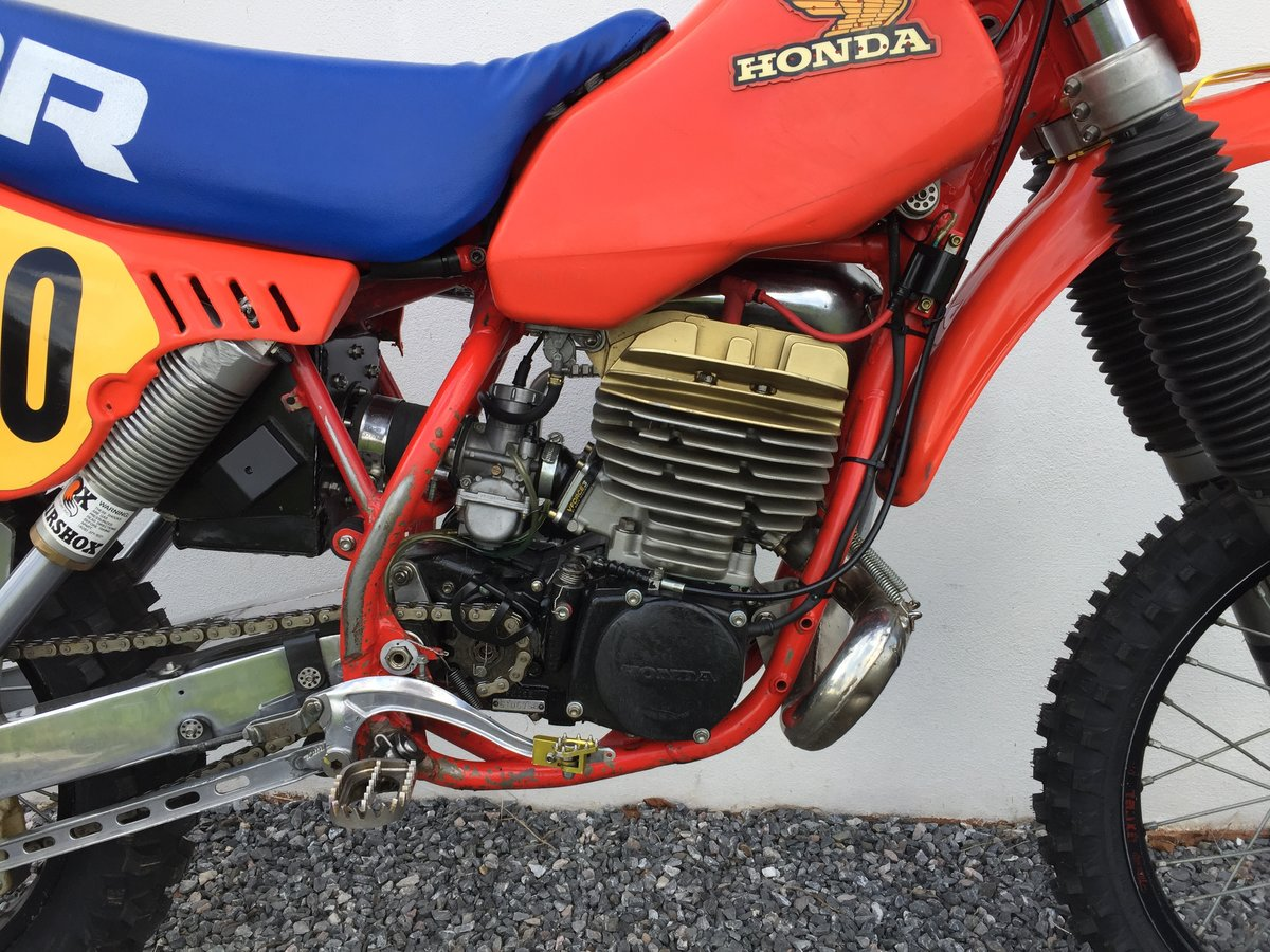 1983 Honda CR 480R Twinshock Motocross SOLD (picture 5 of 6)
