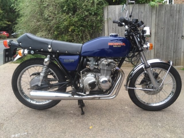 1976 Honda CB400F1  For Sale (picture 1 of 4)