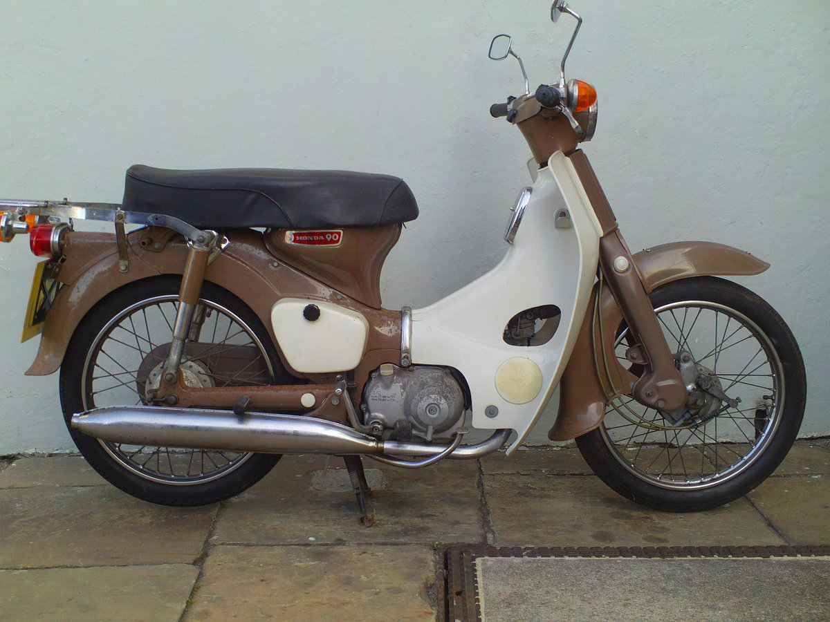 1970 HONDA C90 CUB SOLD (picture 1 of 6)