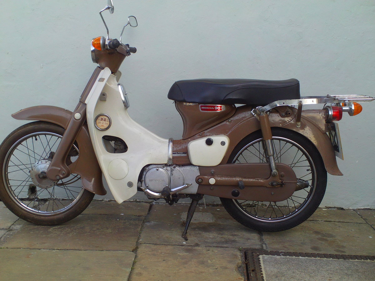 1970 HONDA C90 CUB SOLD (picture 3 of 6)