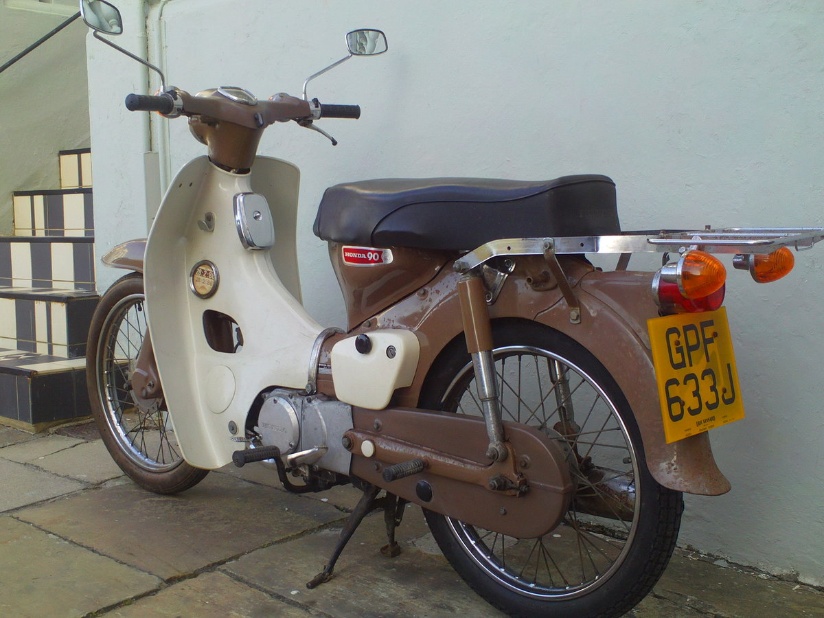 1970 HONDA C90 CUB SOLD (picture 4 of 6)