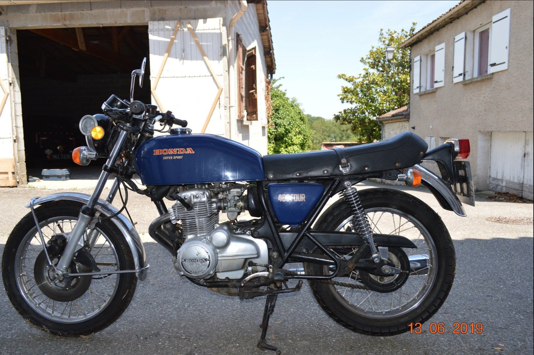 1976 Honda 400/4 ex; Denis Jenkinson For Sale (picture 2 of 2)