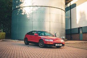 1991 Honda CRX iVT B16 UK Red Manual Classic Civic For Sale