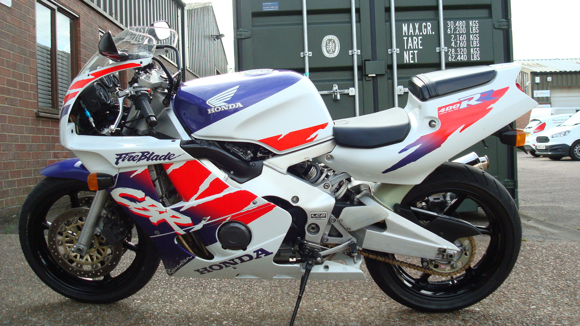 1997 Honda CBR400 RR-R **MINT UN-RESTORED** SOLD (picture 6 of 6)