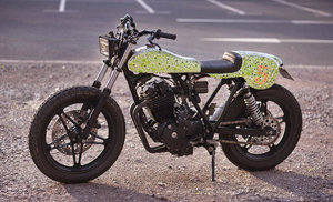 1983 Honda FT500 Sideburn Magazine x Death Spray Custom