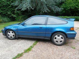 1991 Honda CRX VTEC in Celestial Blue, 162,000 mil For Sale