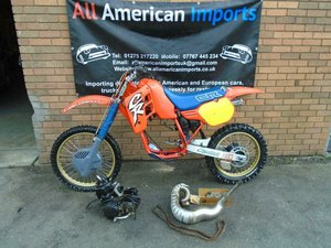 1986 HONDA CR500 R WATER COOLED MOTO X EVO SCRAMBLER SOLD