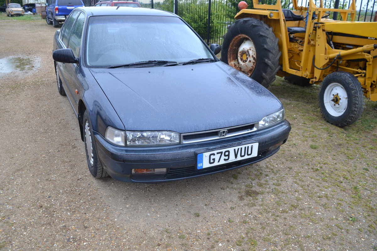 Honda Accord Automatic low miles Aircon 1990 MOTed For Sale (picture 1 of 6)