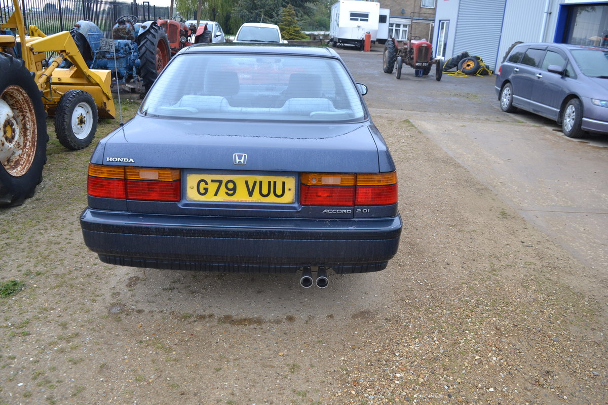 Honda Accord Automatic low miles Aircon 1990 MOTed For Sale (picture 4 of 6)