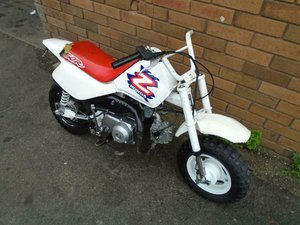 1996 HONDA Z50R MONKEY BIKE() WHITE! RARE COOL MINI BIKE!
