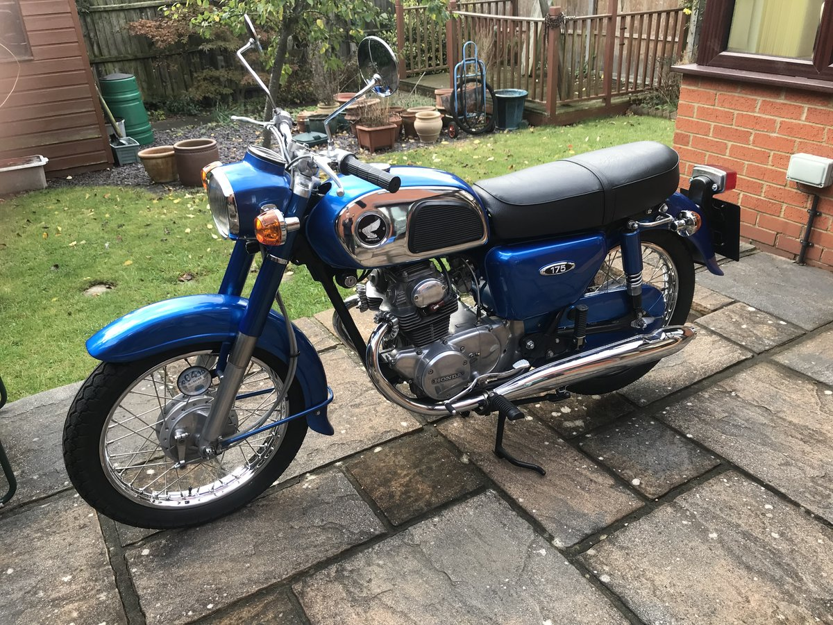 1976 Honda CD175 For Sale (picture 1 of 6)