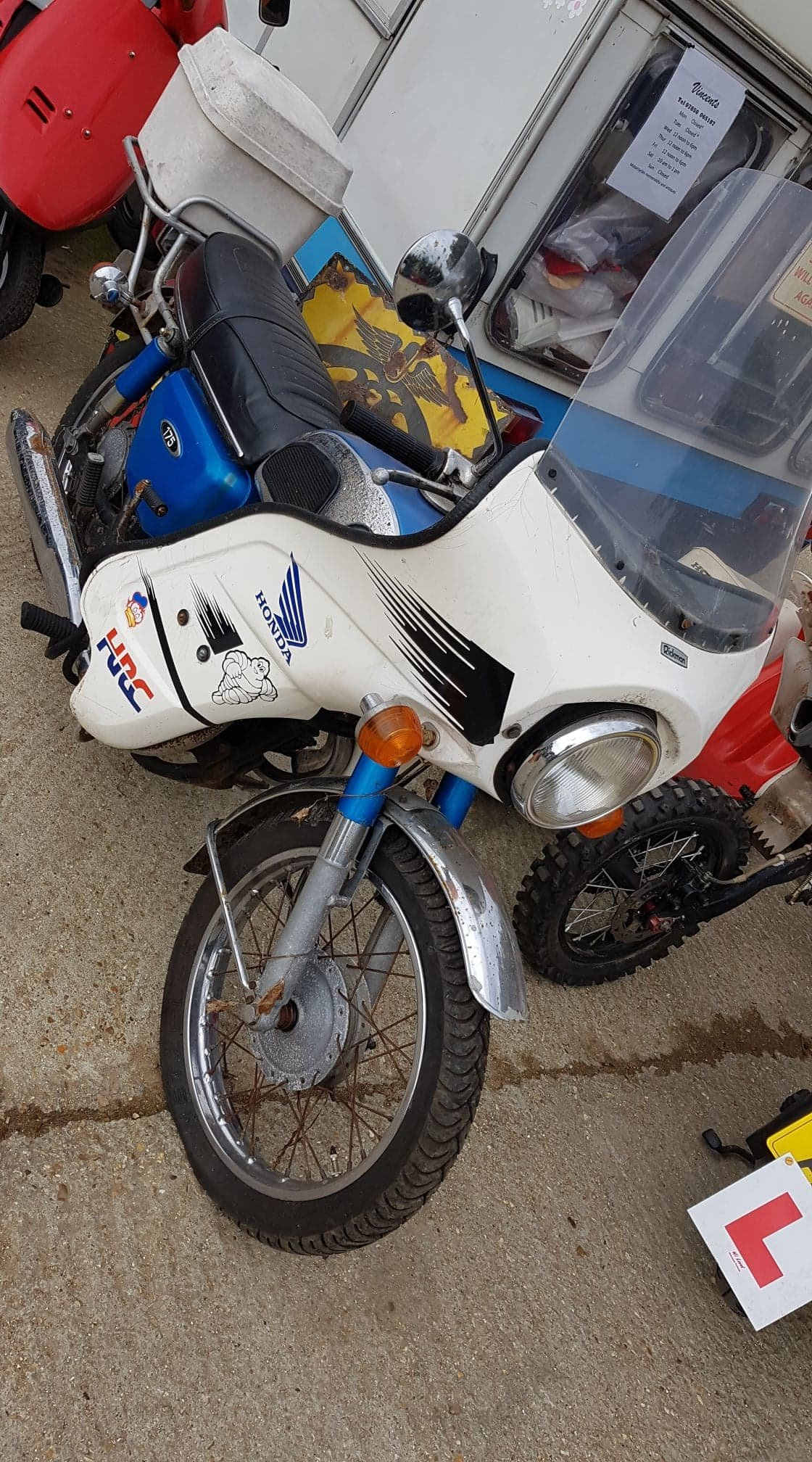 1973 Honda CD 175cc 1974 For Sale (picture 1 of 3)