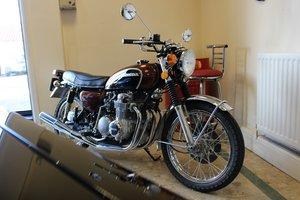 1975 Honda CB500 - Restoration just completed