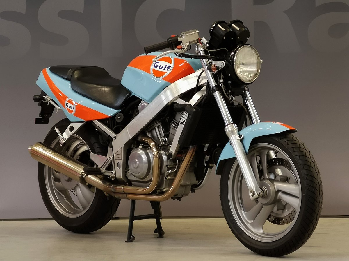 1991 Honda Hawk NT 650 GT Gulf Design, like new, for sale For Sale (picture 1 of 6)