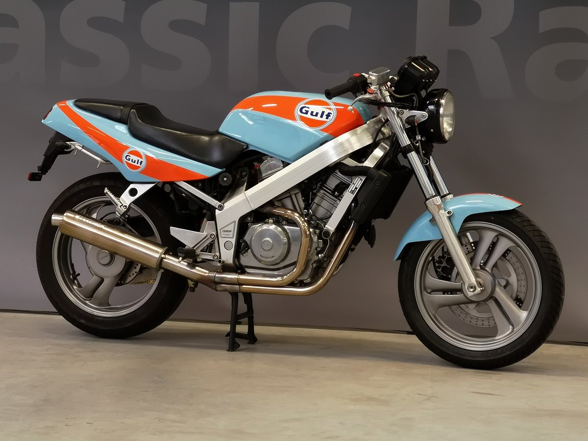 1991 Honda Hawk NT 650 GT Gulf Design, like new, for sale For Sale (picture 2 of 6)