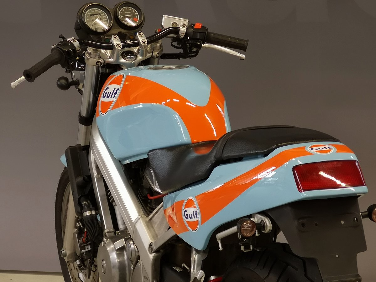 1991 Honda Hawk NT 650 GT Gulf Design, like new, for sale For Sale (picture 4 of 6)