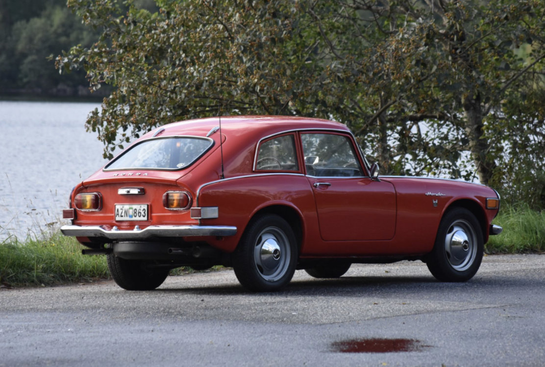 1969 Honda S800 Coupe -69 SOLD (picture 1 of 6)
