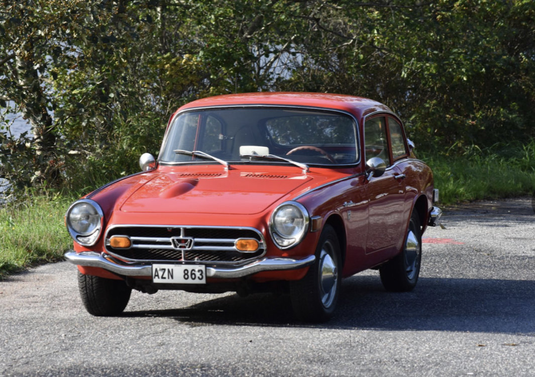 1969 Honda S800 Coupe -69 SOLD (picture 2 of 6)