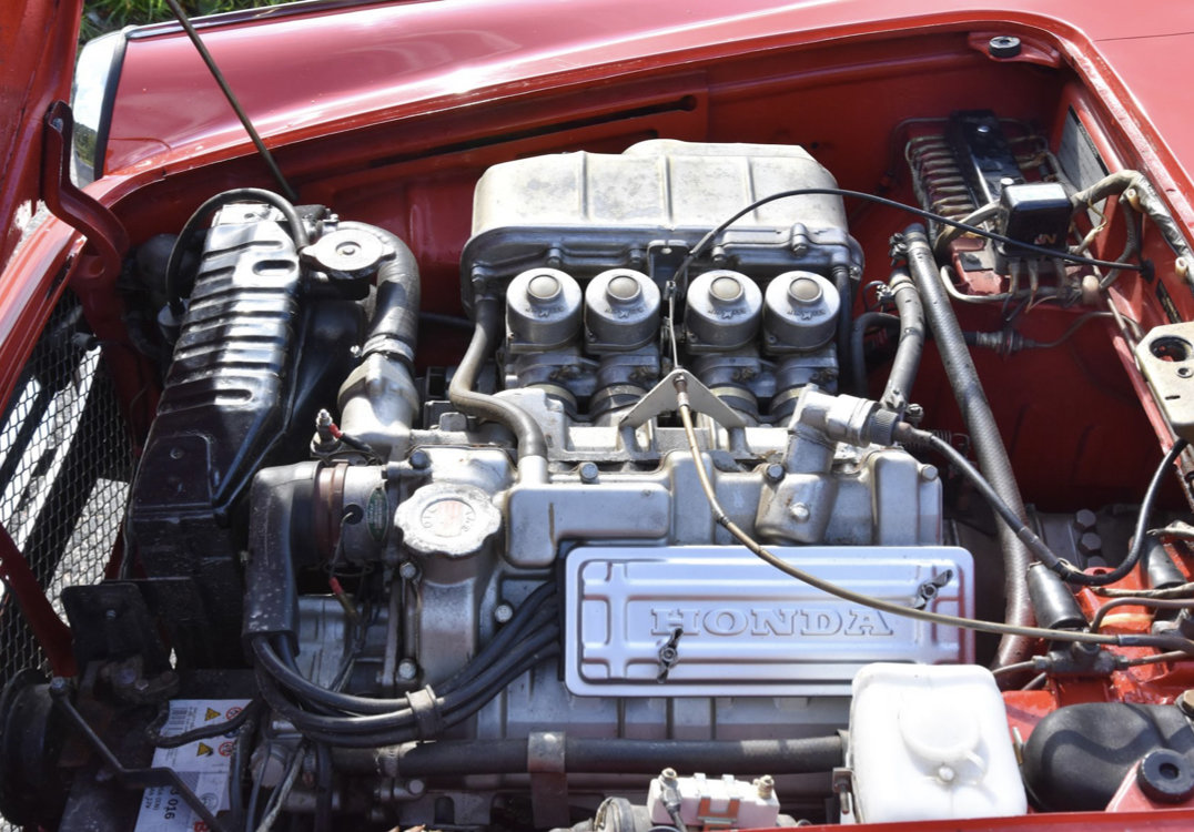 1969 Honda S800 Coupe -69 SOLD (picture 4 of 6)