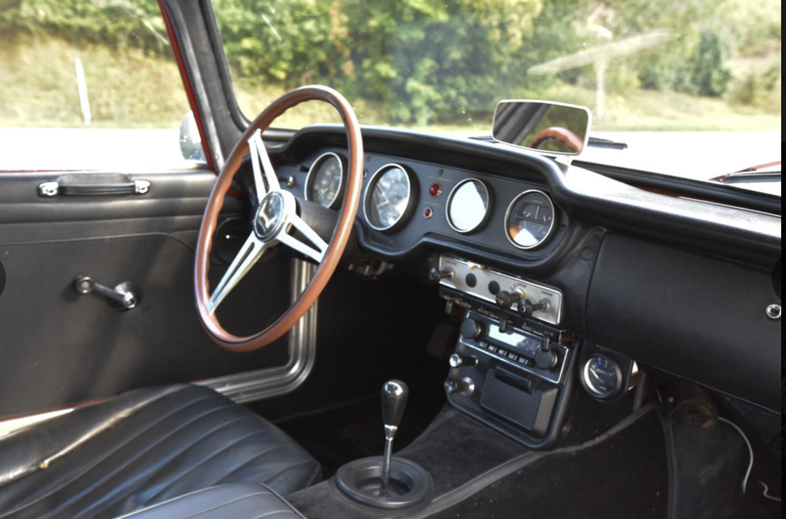 1969 Honda S800 Coupe -69 SOLD (picture 5 of 6)