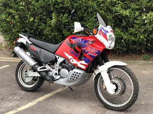 1997 Honda Africa Twin XRV 750cc only 11872 miles from new
