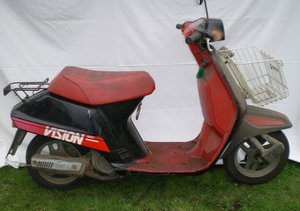 1986 Honda Vision, 49 cc. For Sale by Auction