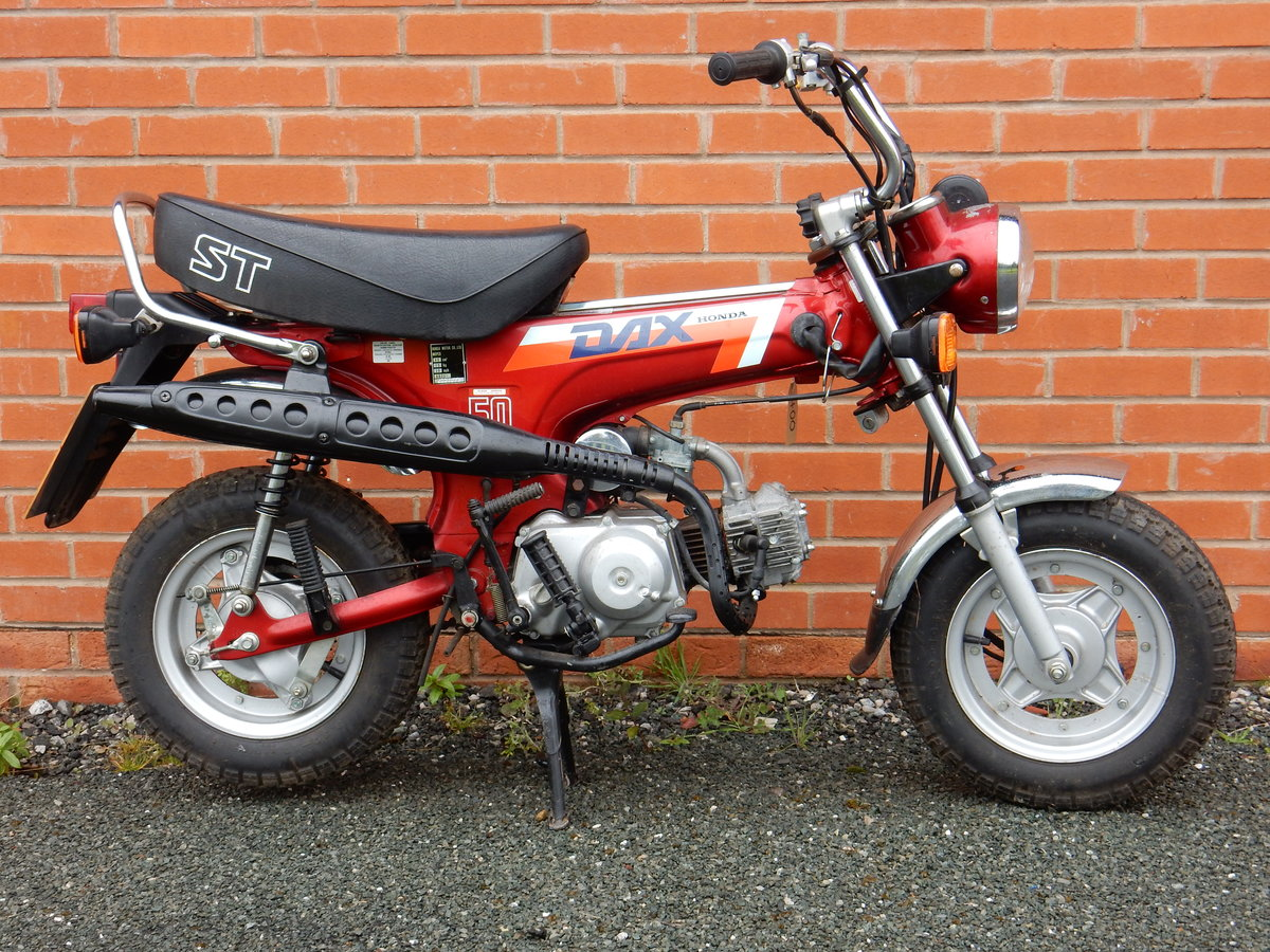 Honda ST50J Dax  1989  49cc - 2 owners from new For Sale (picture 1 of 6)