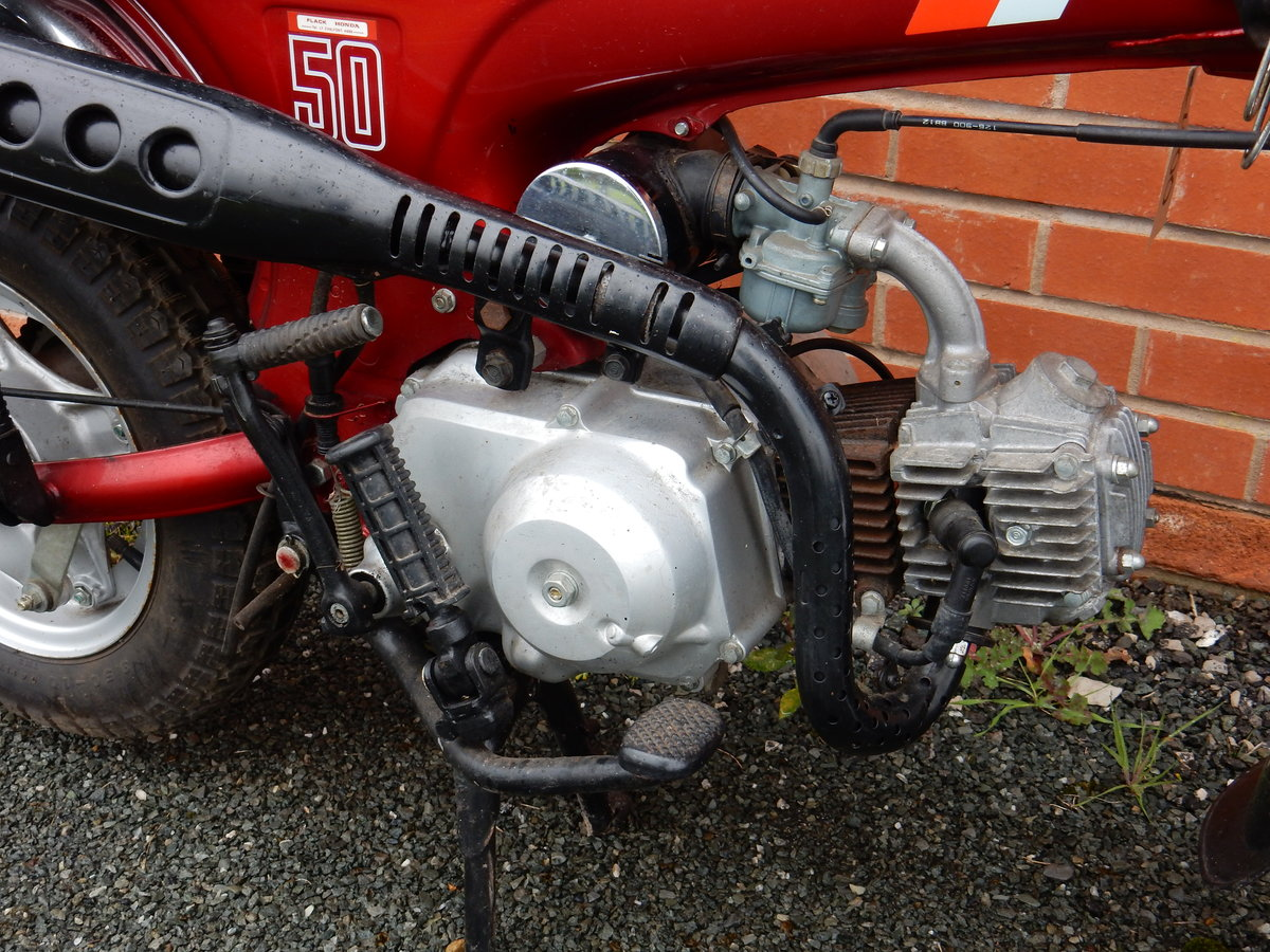 Honda ST50J Dax  1989  49cc - 2 owners from new For Sale (picture 3 of 6)