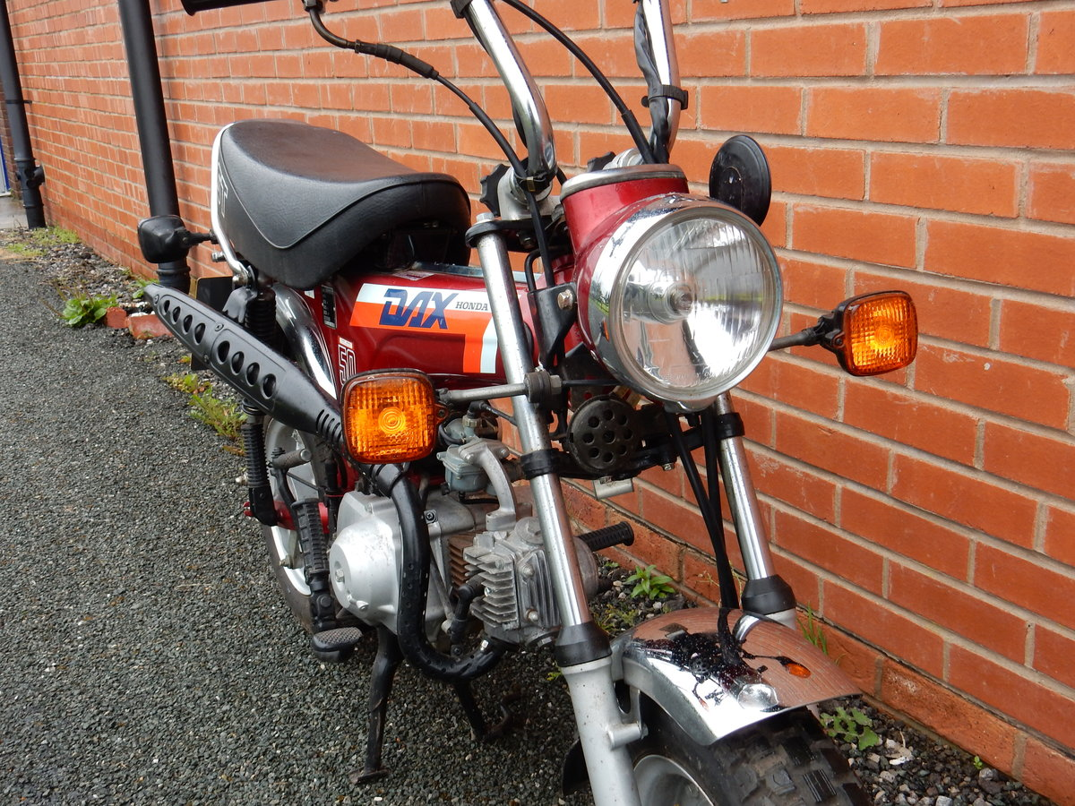 Honda ST50J Dax  1989  49cc - 2 owners from new For Sale (picture 6 of 6)