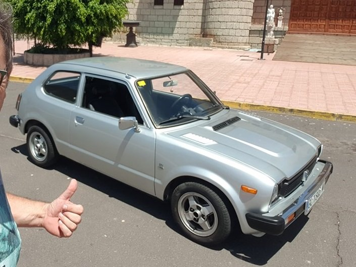 1978 Honda Civic 1.3 LHD For Sale (picture 1 of 1)