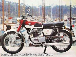 1970 Honda cb 250 cc