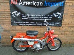 1967 HONDA TRAIL CT 90 MOPED MOTORBIKE SOLD