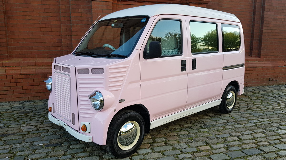 2003 SUBARU SAMBAR / HONDA ACTY 660CC KEI 5 SEAT MINIVAN HY STYLE For Sale (picture 1 of 6)
