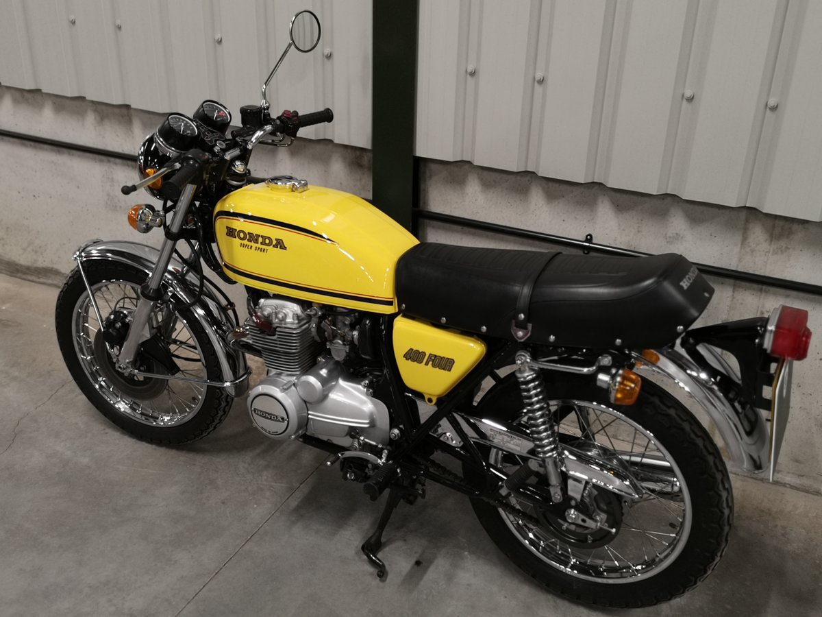 1978 Honda CB 400 Four F2 - Immaculate UK Example SOLD (picture 3 of 6)