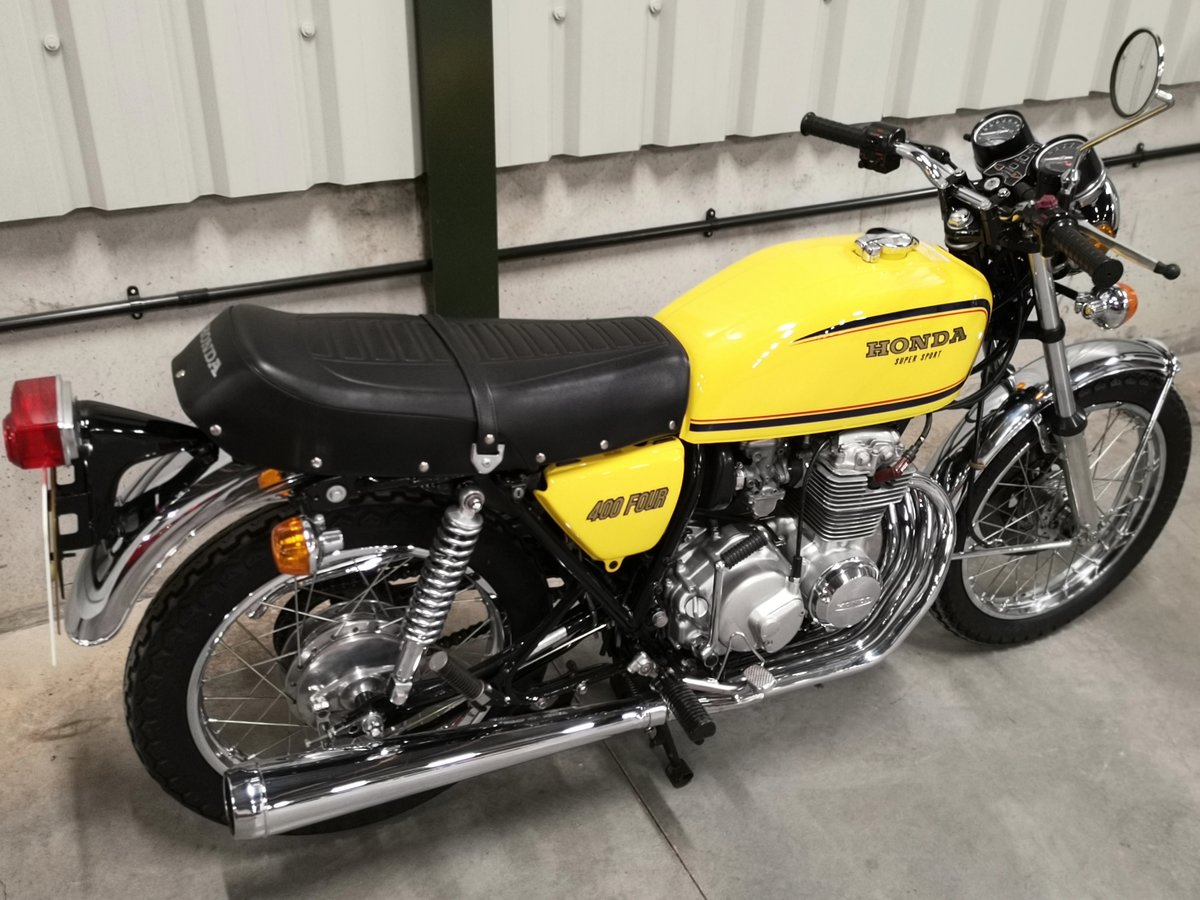 1978 Honda CB 400 Four F2 - Immaculate UK Example SOLD (picture 4 of 6)