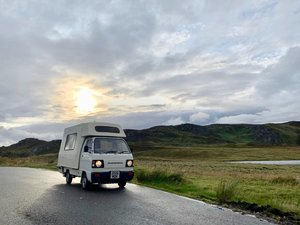 1986 Honda Acty Romahome Campervan Motorhome For Sale