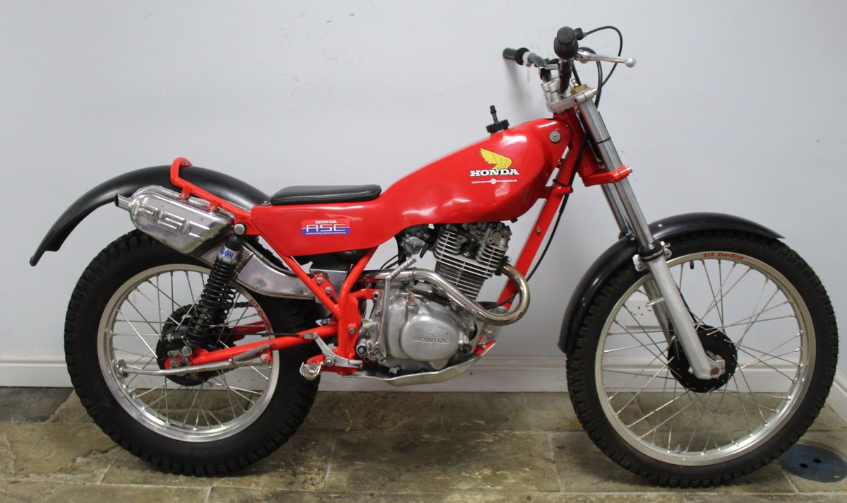 1982 Honda Seeley 200 RSC Twin Shock Trials Bike  SOLD (picture 1 of 6)