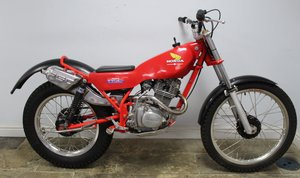 1982 Honda Seeley 200 RSC Twin Shock Trials Bike  SOLD