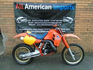 1986 HONDA CR500 R WATER COOLED MOTO X EVO SCRAMBLER For Sale