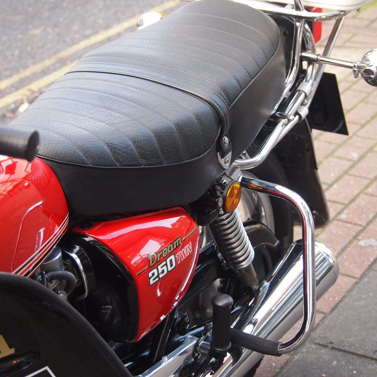 1978 CB250 T Dream, UK Bike, One Owner, RESERVED FOR BILL. SOLD (picture 3 of 6)