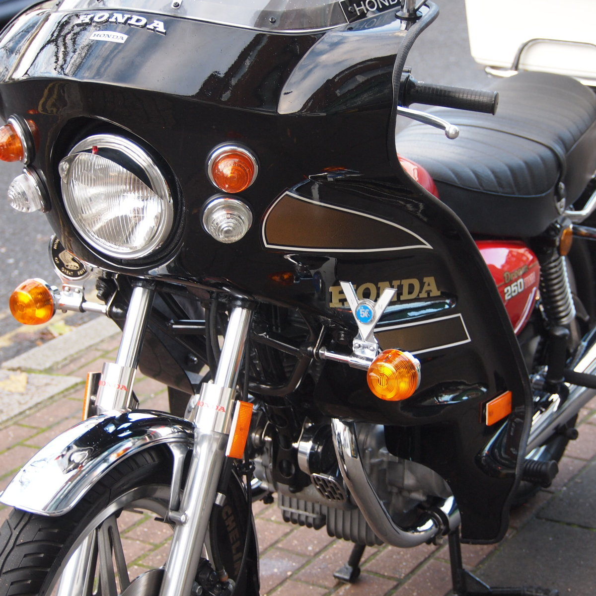 1978 CB250 T Dream, UK Bike, One Owner, RESERVED FOR BILL. SOLD (picture 1 of 6)