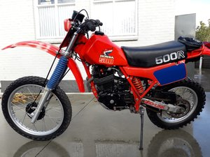 1982 Honda XR500R For Sale