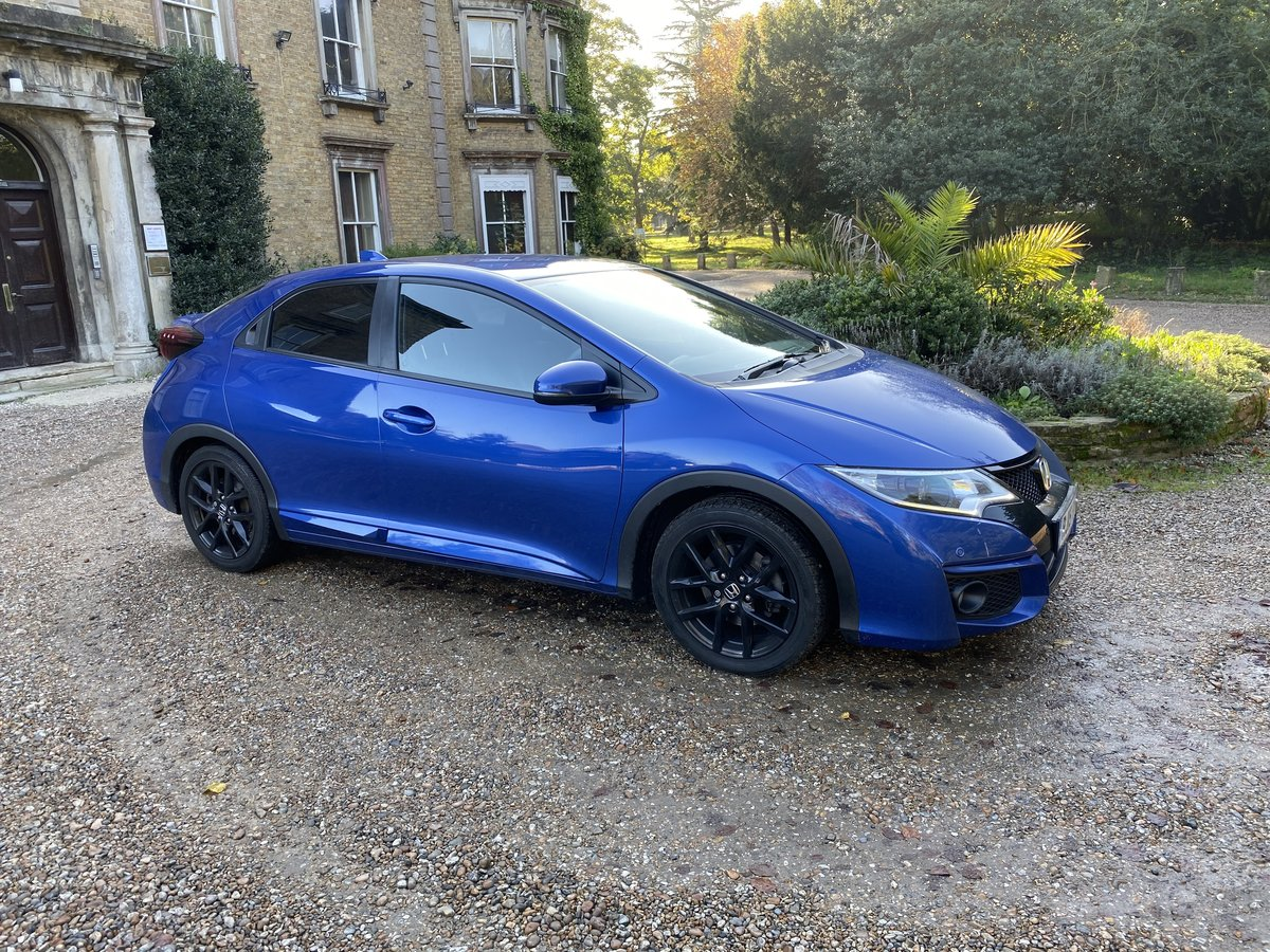 2015 HONDA CIVIC V TEC SPORT AUTO LOW MILES For Sale (picture 1 of 6)