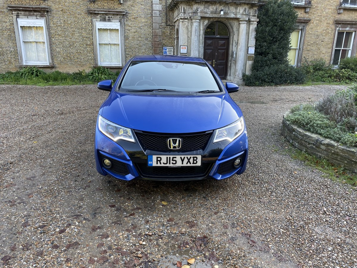 2015 HONDA CIVIC V TEC SPORT AUTO LOW MILES For Sale (picture 2 of 6)