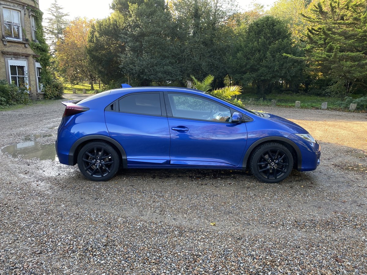 2015 HONDA CIVIC V TEC SPORT AUTO LOW MILES For Sale (picture 3 of 6)