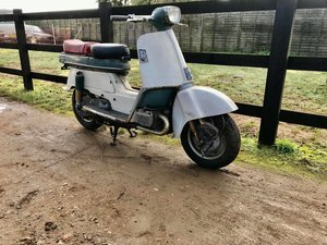 1962 Honda Juno Scooter