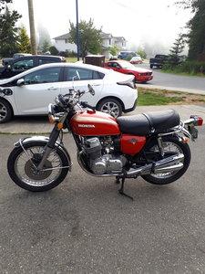 1972 CB750 K2 Original condition