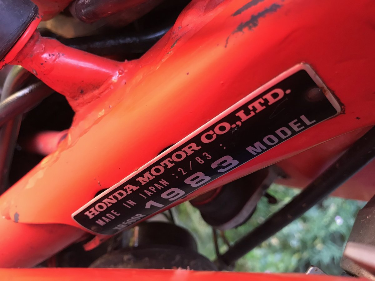 1983 Honda XR 500 R For Sale (picture 5 of 6)